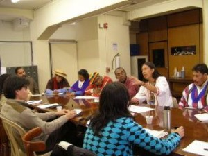 Participantes en uno de los talleres de RENATA