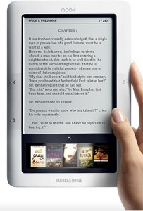 Nook, el e-reader de Barnes & Noble