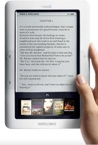 Nook, el e-reader de Barnes & Noble